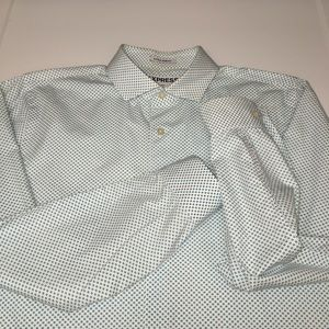 EXPRESS Men's L Extra Slim Fit  100% Cotton Shirt